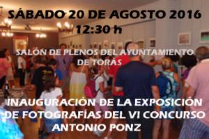 PRESENTACION ANTONIO PONZ 2016
